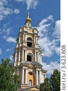 Купить «Колокольня в Новоспасском монастыре. Москва», эксклюзивное фото № 3623808, снято 18 июня 2012 г. (c) lana1501 / Фотобанк Лори