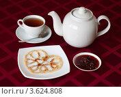 Завтрак, блин. Стоковое фото, фотограф Алексей Судариков / Фотобанк Лори