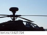"""Кабина вертолета AH-64D """"Апач Лонгбоу"""" (2010 год). Редакционное фото, фотограф Василий Фирсов / Фотобанк Лори"""