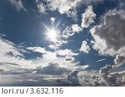 Купить «Небесный пейзаж», фото № 3632116, снято 29 июня 2012 г. (c) Наталья Волкова / Фотобанк Лори