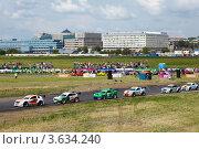 Купить «III этап Летнего Кубка MegaFon Mitjet, 11 июня 2011», фото № 3634240, снято 11 июня 2011 г. (c) Losevsky Pavel / Фотобанк Лори