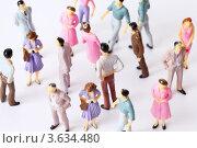 Купить «Разноцветные игрушечные фигурки людей», фото № 3634480, снято 26 мая 2010 г. (c) Losevsky Pavel / Фотобанк Лори