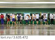 Купить «Соревнования по стрельбе из лука», фото № 3635472, снято 2 апреля 2011 г. (c) Losevsky Pavel / Фотобанк Лори