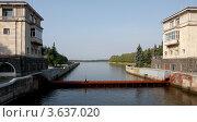 Купить «Канал имени Москвы. Шлюз №1.», фото № 3637020, снято 17 августа 2011 г. (c) Алексей Шипов / Фотобанк Лори
