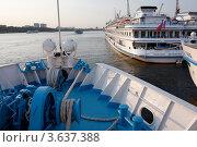Купить «Москва. Северный речной порт. N3», фото № 3637388, снято 16 августа 2011 г. (c) Алексей Шипов / Фотобанк Лори