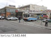 Купить «Москва, вид на метро Чистые пруды», эксклюзивное фото № 3643444, снято 16 июня 2012 г. (c) Дмитрий Неумоин / Фотобанк Лори