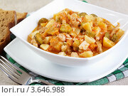 Купить «Азу — традиционное блюдо татарской кухни», фото № 3646988, снято 20 мая 2012 г. (c) Галина Михалишина / Фотобанк Лори