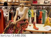 Манекен в магазине (2010 год). Редакционное фото, фотограф Анна Волик / Фотобанк Лори
