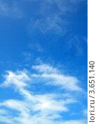 Купить «Перистые облака», фото № 3651140, снято 27 июня 2012 г. (c) Анна Мартынова / Фотобанк Лори