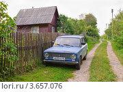 Купить «ВАЗ-21011», эксклюзивное фото № 3657076, снято 19 июня 2012 г. (c) Алёшина Оксана / Фотобанк Лори