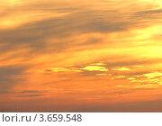 Небо на закате. Стоковое фото, фотограф Александр Довянский / Фотобанк Лори