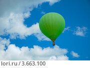 На большом воздушном шаре (2012 год). Редакционное фото, фотограф Ольга Ларина / Фотобанк Лори