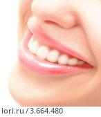 Белоснежная улыбка. Стоковое фото, фотограф Насыров Руслан / Фотобанк Лори