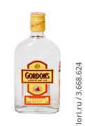 """Купить «Джин """"Gordon's"""" London dry gin», эксклюзивное фото № 3668624, снято 10 июня 2012 г. (c) Александр Щепин / Фотобанк Лори"""