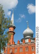 Купить «Нижний Новгород, соборная мечеть», фото № 3669020, снято 11 июня 2012 г. (c) Татьяна Юни / Фотобанк Лори
