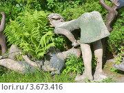 """Купить «Парк скульптур """"Мистический лес"""". Финляндия», эксклюзивное фото № 3673416, снято 23 июня 2012 г. (c) Александр Щепин / Фотобанк Лори"""