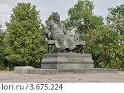 Купить «Орёл. Памятник Лескову», фото № 3675224, снято 24 марта 2019 г. (c) Алексей Шаповалов (Стерх) / Фотобанк Лори