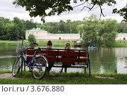 """Купить «В парке """"Кузьминки"""". Москва», эксклюзивное фото № 3676880, снято 16 июня 2012 г. (c) Free Wind / Фотобанк Лори"""