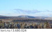Сибирские горы. Стоковое фото, фотограф Юлия Науменко / Фотобанк Лори