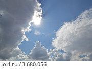 Летнее небо. Стоковое фото, фотограф Юлия Науменко / Фотобанк Лори