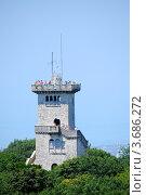 Купить «Гора Ахун, смотровая башня (вид сверху)», фото № 3686272, снято 21 июля 2012 г. (c) Анна Мартынова / Фотобанк Лори