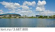 Купить «Москва, велотрек и стадион в Крылатском», фото № 3687800, снято 19 июня 2012 г. (c) ИВА Афонская / Фотобанк Лори
