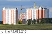 Купить «Стройка», фото № 3688216, снято 22 июля 2012 г. (c) Владимир Горшков / Фотобанк Лори