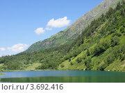 Озеро Туманлы-Кель. Стоковое фото, фотограф Алексей Порубов / Фотобанк Лори