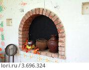 Купить «Русская печка», фото № 3696324, снято 8 мая 2012 г. (c) Старостин Сергей / Фотобанк Лори