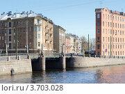 Купить «Петербург. Фонтанка», эксклюзивное фото № 3703028, снято 8 мая 2012 г. (c) Александр Алексеев / Фотобанк Лори