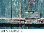 Фрагмент старых деревянный ворот. Стоковое фото, фотограф Анастасия Филиппова / Фотобанк Лори