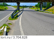 Дорога на развязке. Стоковое фото, фотограф Артур Худолий / Фотобанк Лори