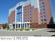Здание Оренбургского областного суда (2012 год). Стоковое фото, фотограф Алексей Сахаров / Фотобанк Лори