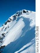 Купить «Склон горы, Хибины», фото № 3705868, снято 31 марта 2012 г. (c) Morgenstjerne / Фотобанк Лори