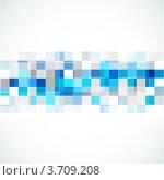 Абстрактный фон с разноцветными квадратами. Стоковая иллюстрация, иллюстратор Marina Zlochin / Фотобанк Лори