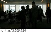 Купить «Люди в зале конференций CEPIC в Дублине, Ирландия(Таймлапс)», видеоролик № 3709724, снято 21 сентября 2010 г. (c) Losevsky Pavel / Фотобанк Лори