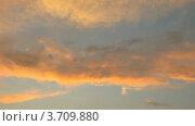 Купить «Небо на закате», видеоролик № 3709880, снято 15 сентября 2010 г. (c) Losevsky Pavel / Фотобанк Лори