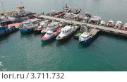 Купить «Корабле на причале в Персидском заливе», видеоролик № 3711732, снято 2 октября 2010 г. (c) Losevsky Pavel / Фотобанк Лори