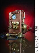Купить «Телефон в стиле стимпанк», фото № 3714796, снято 1 августа 2012 г. (c) Валерий Александрович / Фотобанк Лори