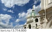 Купить «Фрагмент колокольни Ивана Великого. Кремль, Москва», фото № 3714800, снято 20 августа 2010 г. (c) Владимир Журавлев / Фотобанк Лори