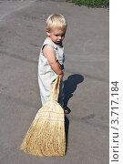 Купить «Маленький помощник», фото № 3717184, снято 8 июля 2012 г. (c) Светлана Чернокнижникова / Фотобанк Лори