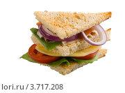Сэндвич. Стоковое фото, фотограф Дмитрий Янет / Фотобанк Лори