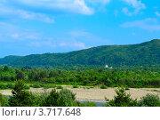 Пейзаж горной долины. Стоковое фото, фотограф Артур Худолий / Фотобанк Лори