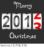 Купить «Новогодняя иллюстрация: 2012 меняется на 2013», иллюстрация № 3718116 (c) Фотограф / Фотобанк Лори