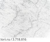 Старая, обшарпанная белая стена с потрескавшейся штукатуркой. Стоковое фото, фотограф Юлия Шевченко / Фотобанк Лори