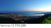 Купить «Ночная панорама, Геленджик», фото № 3719288, снято 8 июня 2012 г. (c) Игорь Архипов / Фотобанк Лори