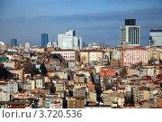 Купить «Вид на Стамбул с Галатской Башни, Турция», фото № 3720536, снято 18 января 2011 г. (c) Светлана Колобова / Фотобанк Лори