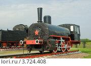 Паровоз серии Ь (ерь) (2010 год). Редакционное фото, фотограф Василий Фирсов / Фотобанк Лори