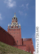 Спасская башня, г. Москва (2012 год). Стоковое фото, фотограф Алексей Алексеев / Фотобанк Лори