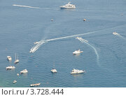 Лодки на море. Стоковое фото, фотограф Екатерина Слугина / Фотобанк Лори